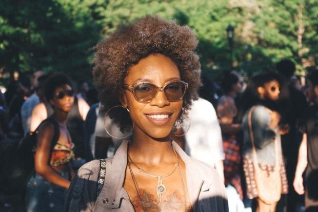 AfroPunk2015_BlackHair_NaturalHair_Blonde_Short_WashnGo_Curls_Coils-compressor