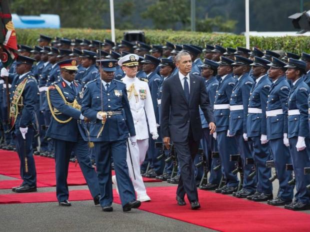 Obama's recent visit to Kenya