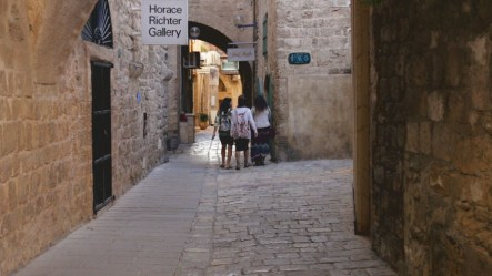 Tel Aviv's Old City is full of charming little winding nooks and crannies.