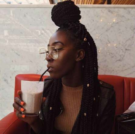 Three Ways To Bling Out Your Box Braids With Jewelry Un Ruly