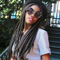 12 of the Dopest Box Braids on Pinterest | Un-ruly
