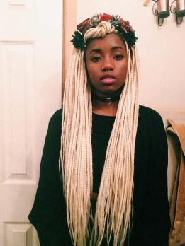 hairspiration blond box braids twists un ruly