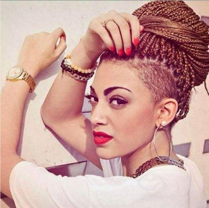 Crochet Box Braids Shaved Sides : So, now tell us below in the comments, what box braid style are you ...