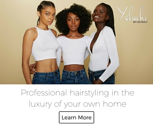 at home hair styling for black women
