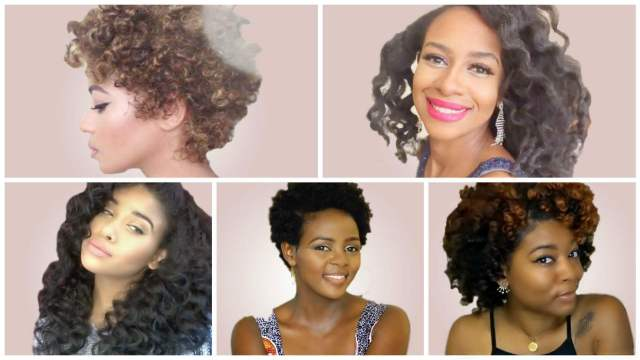 bantu knot outs on different textures and lengths | un-ruly