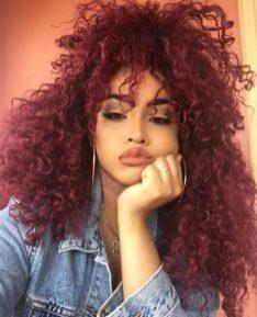 Black_Hair_Un-Ruly_Red_Hair_Curls_HalfPony