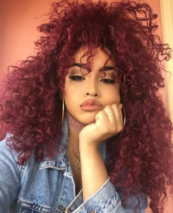 Black_Hair_Un-Ruly_Red_Hair_Curls_HalfPony