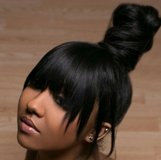 Black_Hair_Un-Ruly_Weaves_Updo_Bang