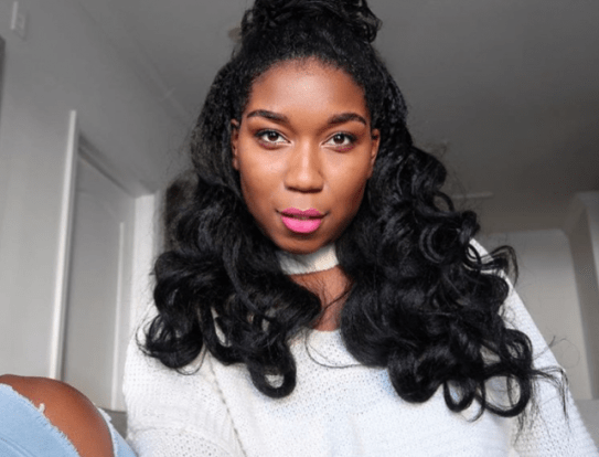 Black_Hair_Natural_Naptural85_4C_Curls_Half_Up