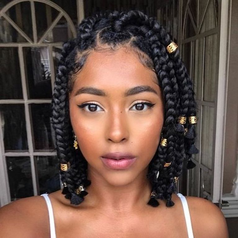 10 Stand Out Ways To Part Your Box Braids Un Ruly