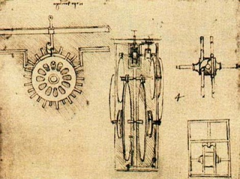 Механизм часов Леонардо Да Винчи