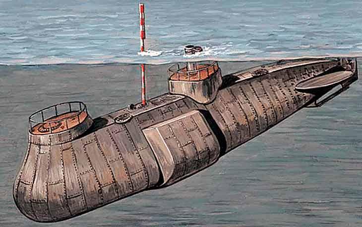 История создания подводной лодки 5