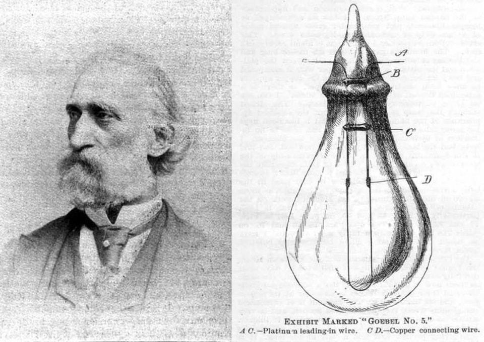 История развития ламп накаливания 8
