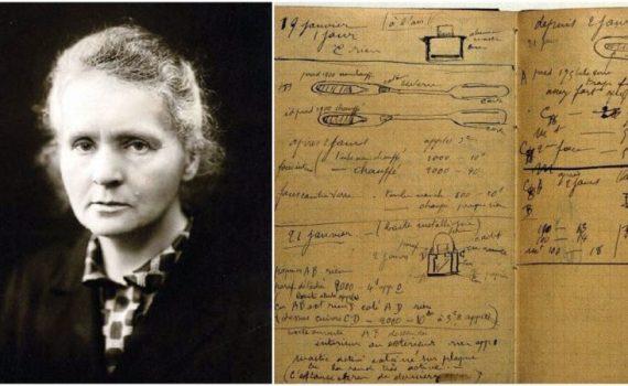 Исследовательские работы Марии Кюри остаются радиоактивными 100 с лишним лет спустя 7