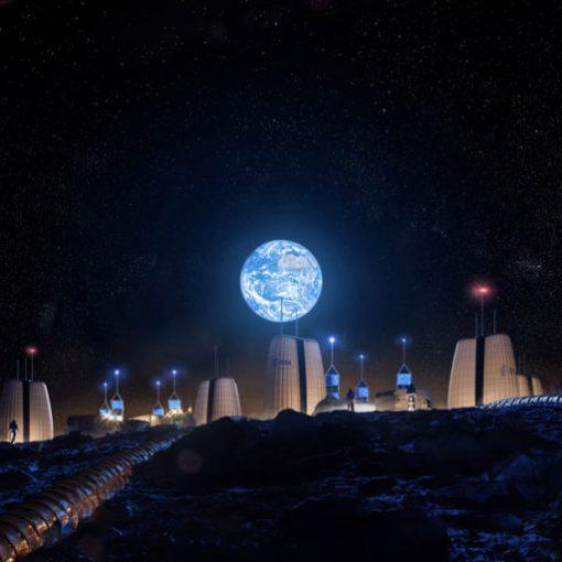 Инженеры и архитекторы проектируют лунные поселения 4