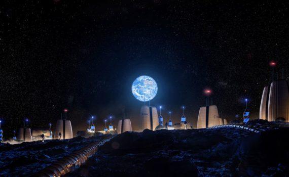 Инженеры и архитекторы проектируют лунные поселения 8