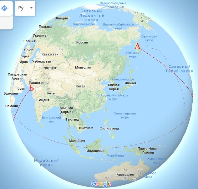 Где пролегает самый длинный морской путь, по которому можно проплыть без смены направления 2