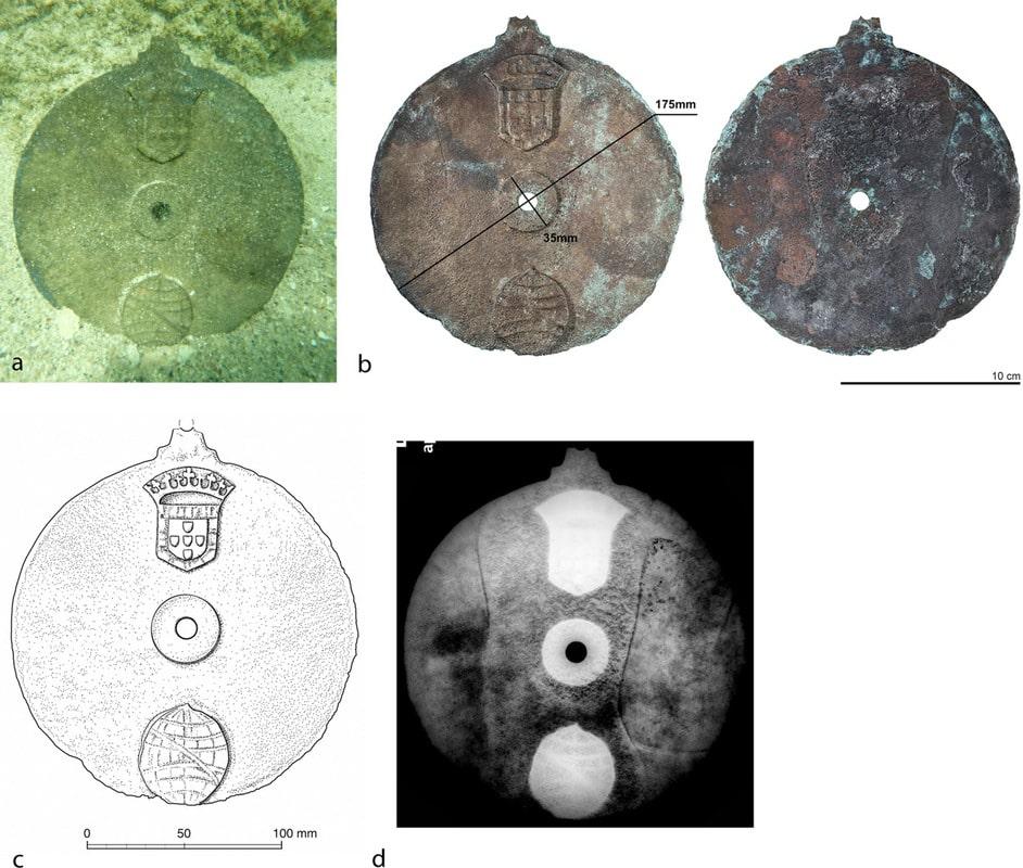 Морская астролябия с затонувшего корабля Васко да Гамы вошло в Книгу рекордов Гиннесса 3
