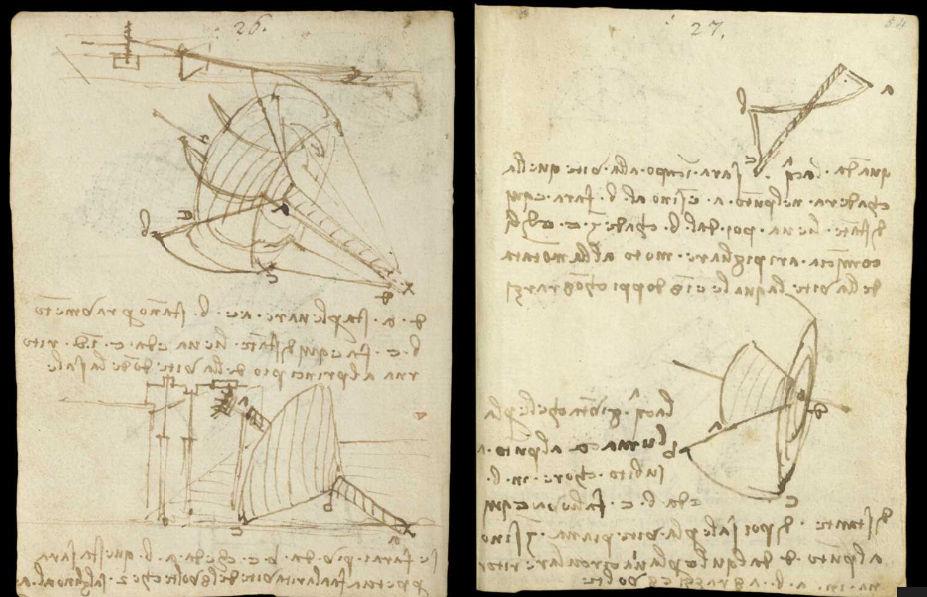Научные книги Леонардо да Винчи выложили в открытый доступ 1