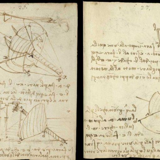 Научные книги Леонардо да Винчи выложили в открытый доступ 4