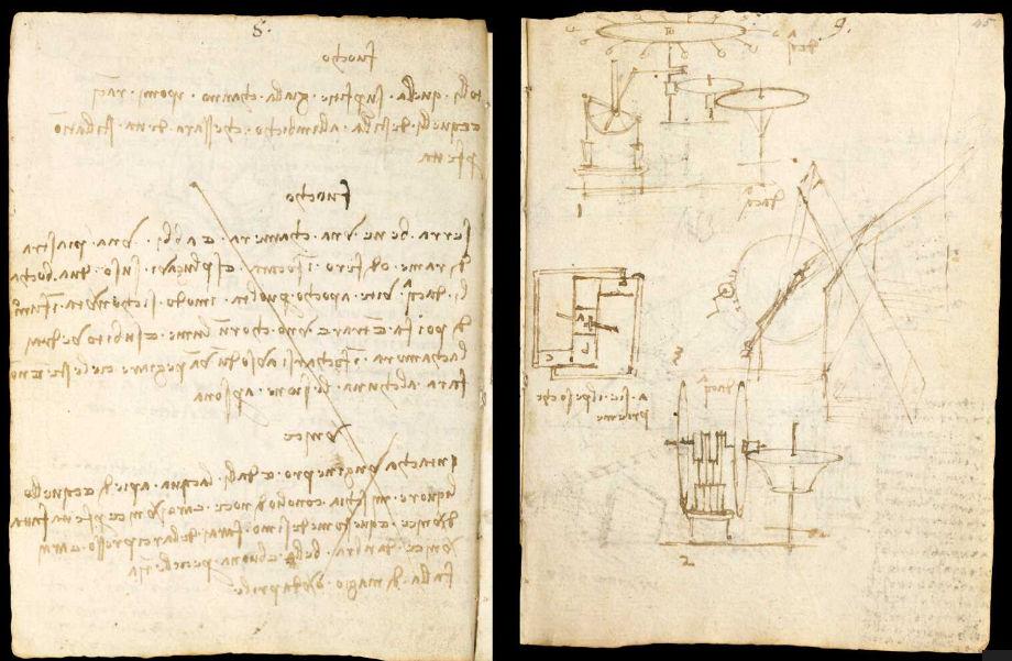Научные книги Леонардо да Винчи выложили в открытый доступ 14