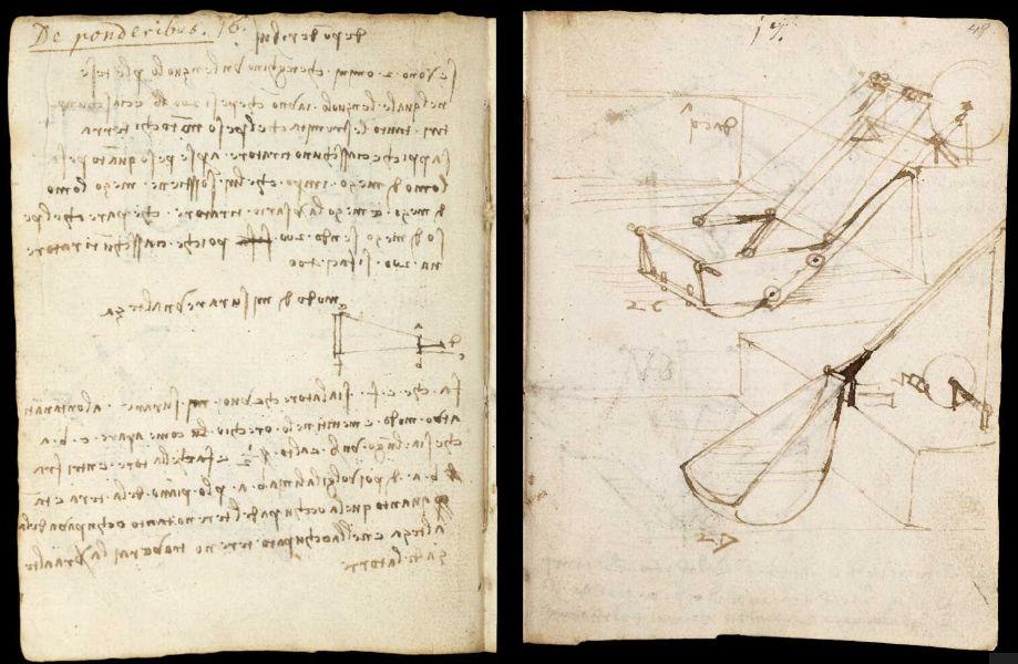 Научные книги Леонардо да Винчи выложили в открытый доступ 18