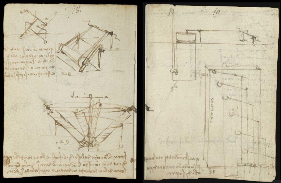 Научные книги Леонардо да Винчи выложили в открытый доступ 19