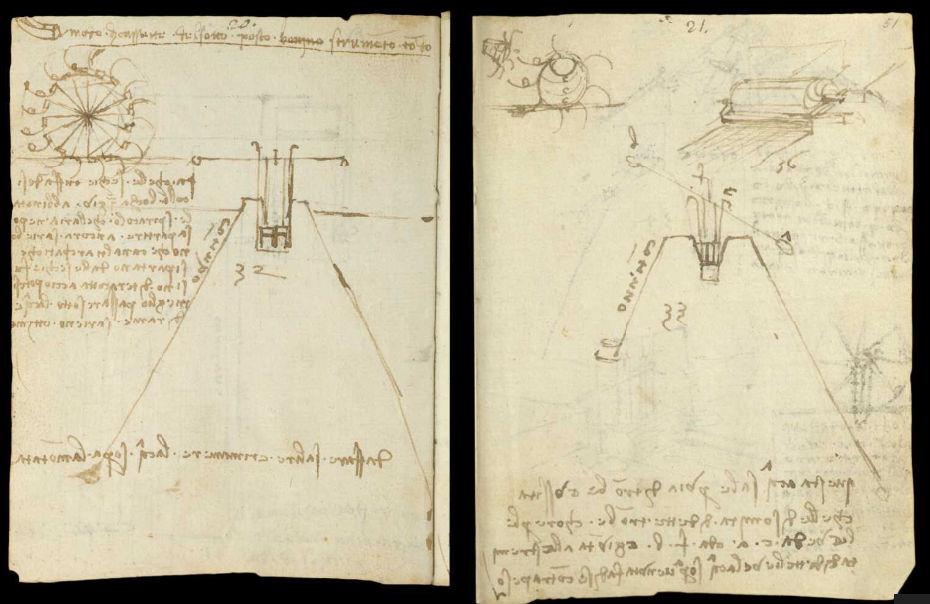Научные книги Леонардо да Винчи выложили в открытый доступ 20