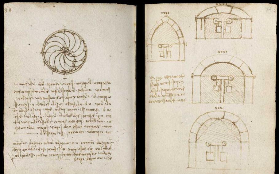 Научные книги Леонардо да Винчи выложили в открытый доступ 26