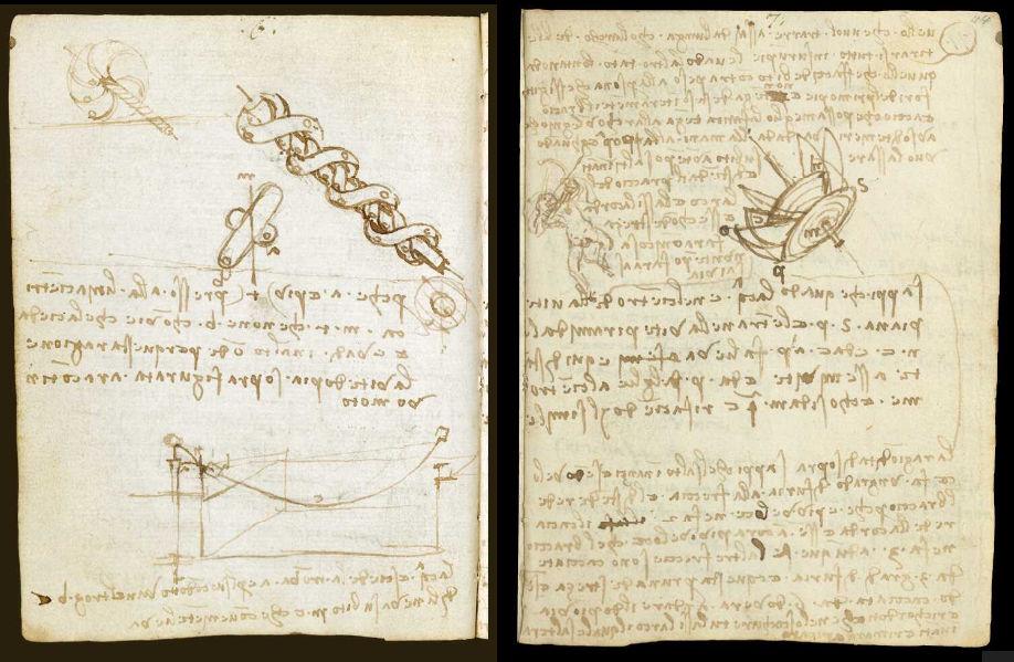Научные книги Леонардо да Винчи выложили в открытый доступ 5
