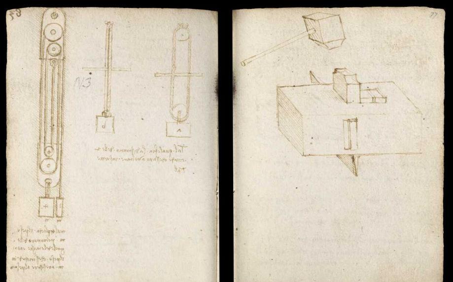Научные книги Леонардо да Винчи выложили в открытый доступ 33