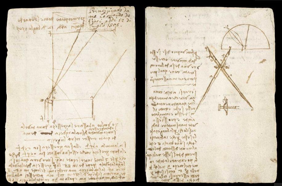 Научные книги Леонардо да Винчи выложили в открытый доступ 2