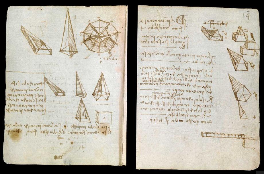 Научные книги Леонардо да Винчи выложили в открытый доступ 9
