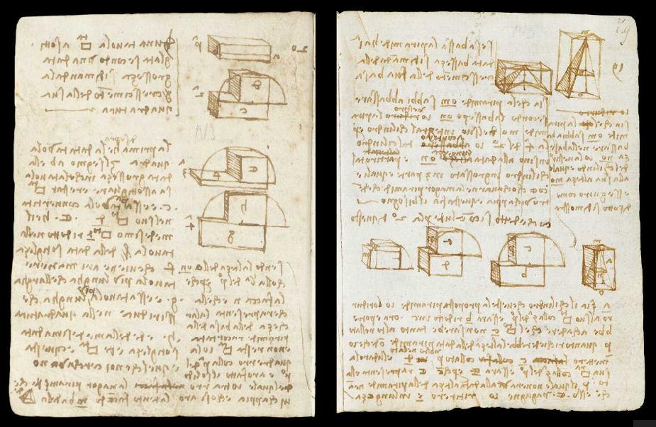 Научные книги Леонардо да Винчи выложили в открытый доступ 10