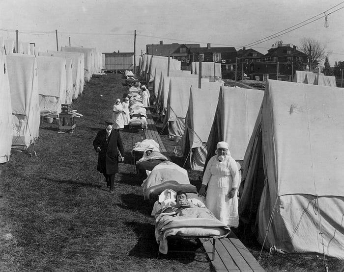 Как пандемия гриппа 1918 года поставила мир на колени 9