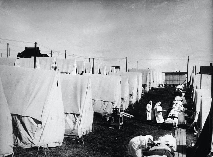 Как пандемия гриппа 1918 года поставила мир на колени 10