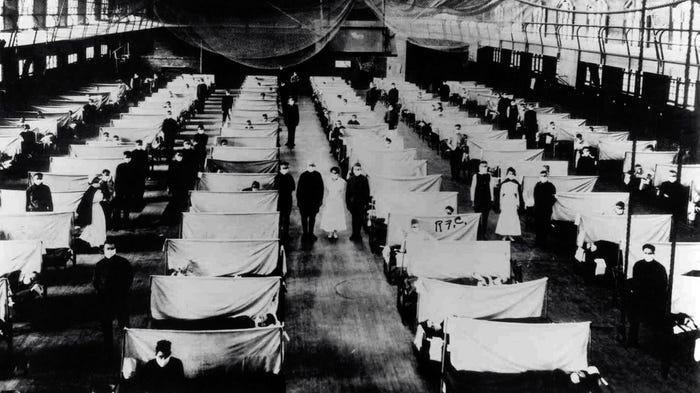Как пандемия гриппа 1918 года поставила мир на колени 7