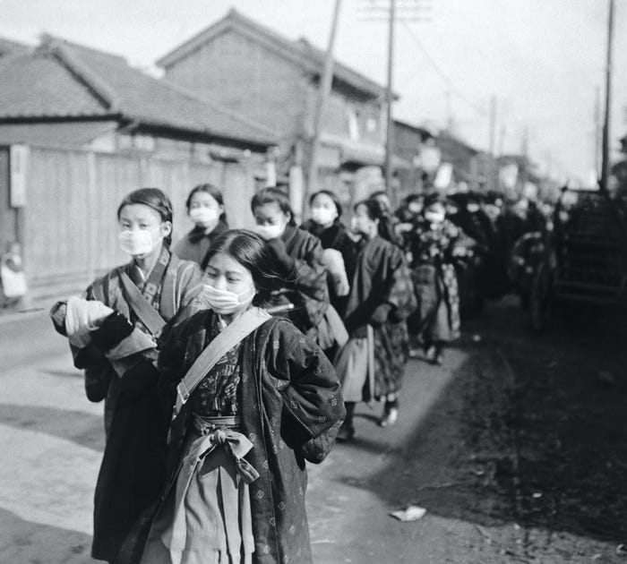 Как пандемия гриппа 1918 года поставила мир на колени 5