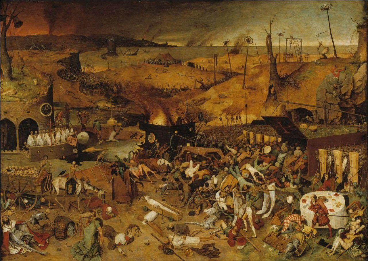 История наших пандемий 1