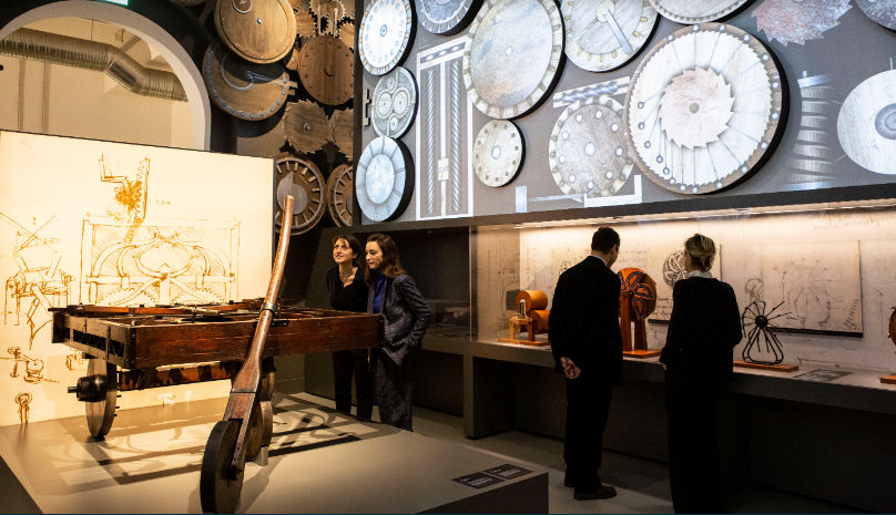 Музей науки и техники Леонардо да Винчи 27