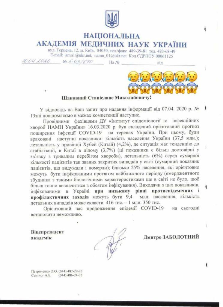 О запредельной статистике НАМН Украины 3