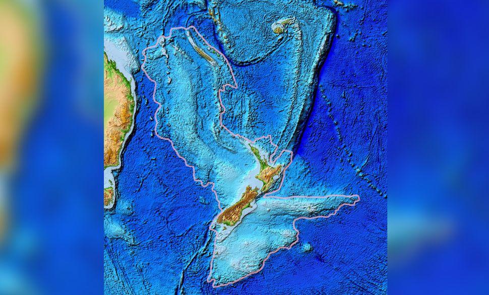 Ученые обнаружили следы затерянного континента в Тихом океане 1