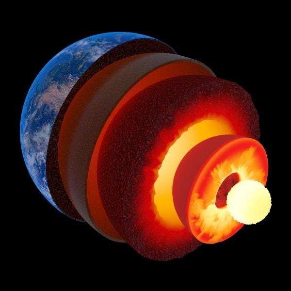 Внутреннее ядро Земли колеблется и смещается аномально? 1
