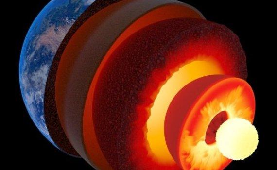 Внутреннее ядро Земли колеблется и смещается аномально? 3
