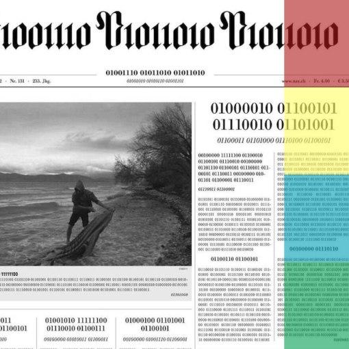 Цюрихская газета и бинарный код 4