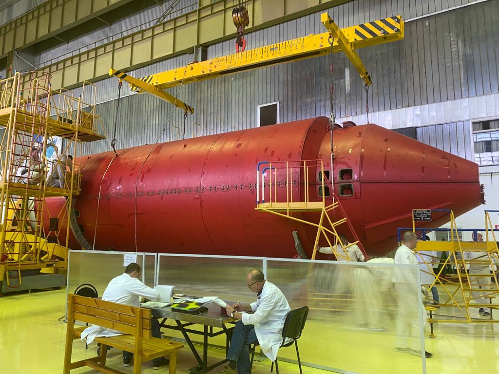 Российский модуль «Нака» отправлен на Байконур 8