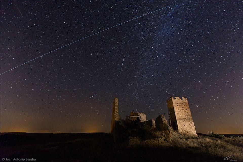 Метеорный поток Персеиды в объективах фотографов 1