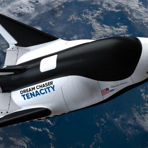 Первый космический самолет Dream Chaser 8