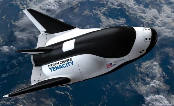 Первый космический самолет Dream Chaser 9