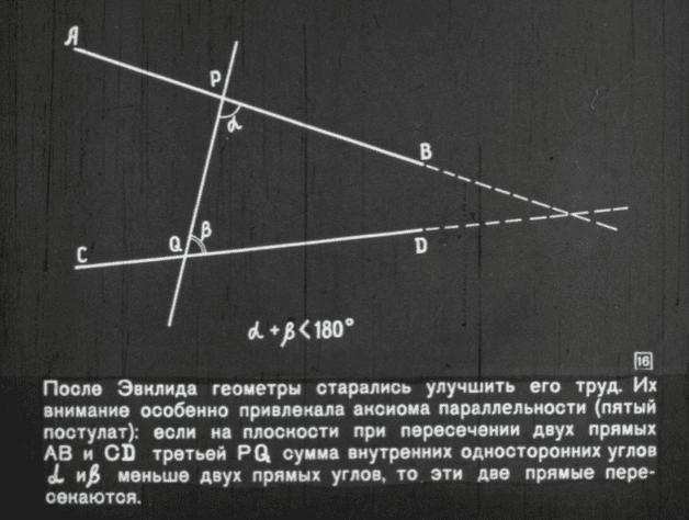 Неэвклидова геометрия и её создатель Николай Лобачевский 34